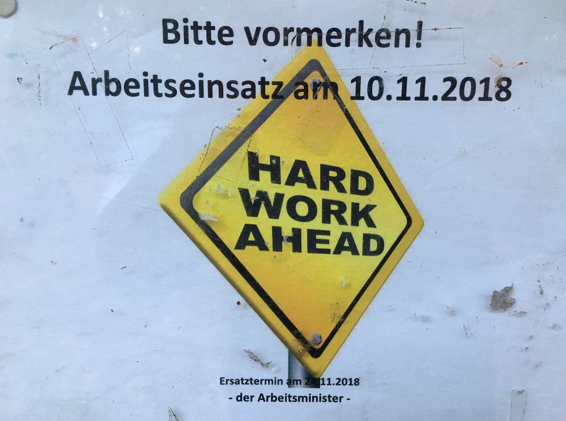 Arbeitseinsatz