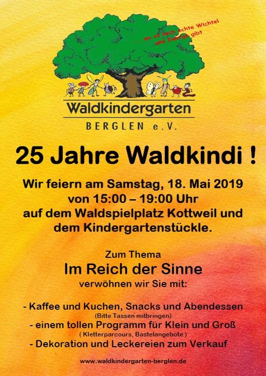 Flyer Jubiläumsfest
